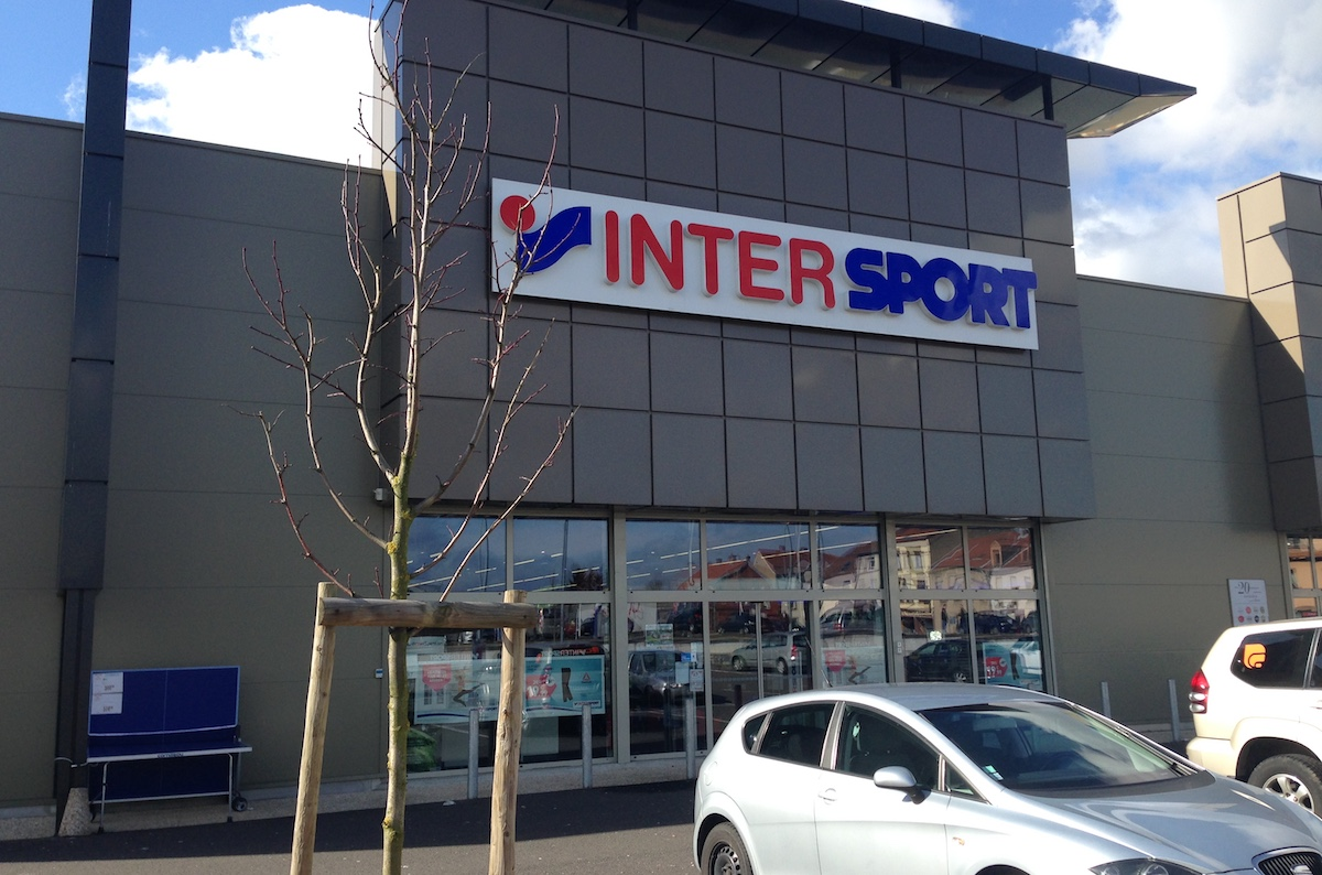 Le magasin Intersport à Forbach